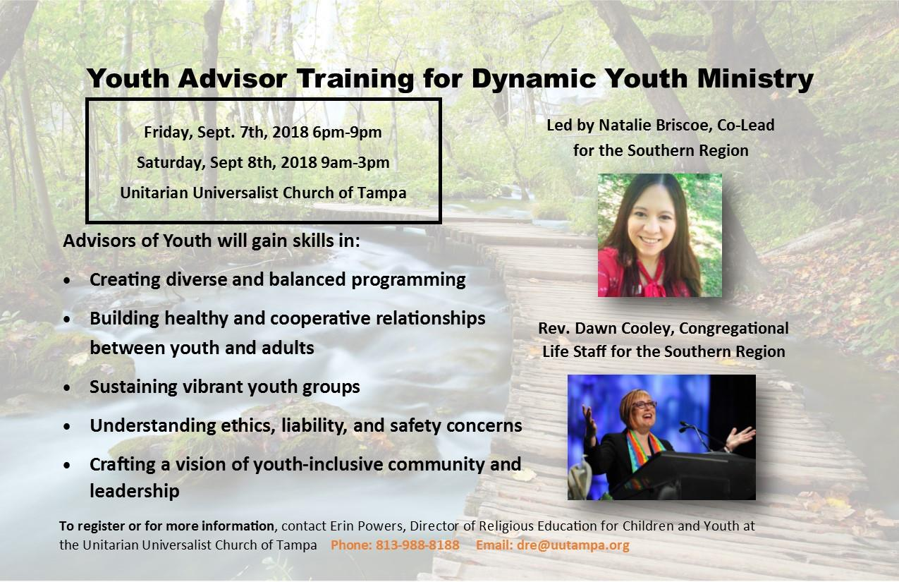 Youth Advisor Training For Dynamic Youth Ministry