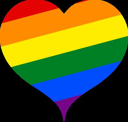 Pride Month (rainbow heart logo)
