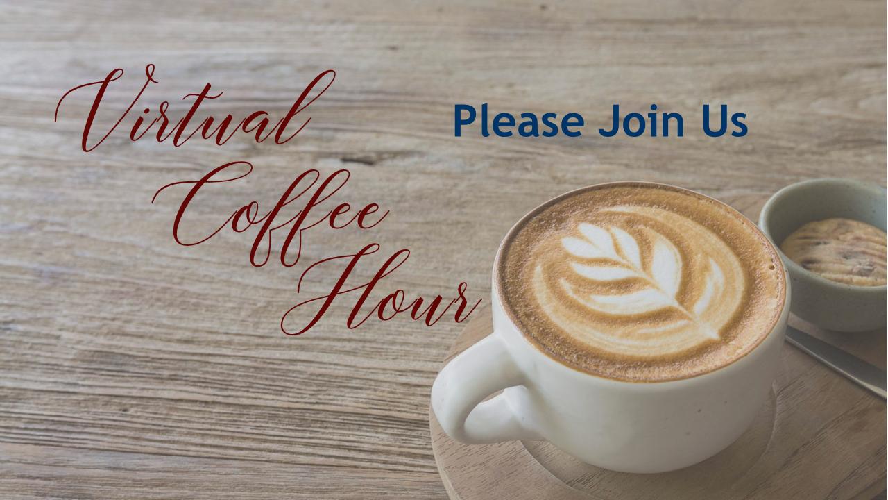 UUFEC Virtual Coffee Hour October 18th, 2020 - Unitarian Universalist  Fellowship of the Emerald Coast