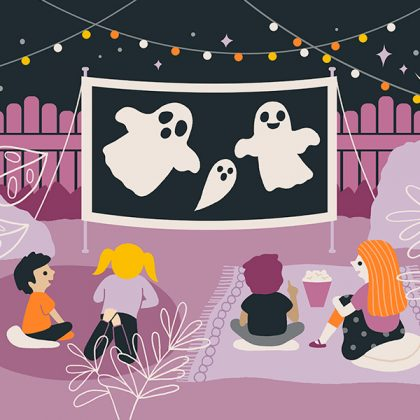 Halloween Party Movie Night