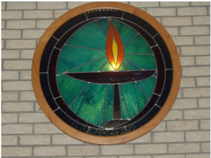 UUFEC Chalice Stained Glass