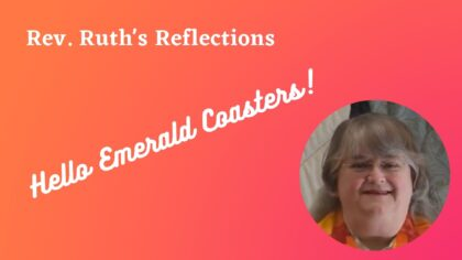 Rev. Ruth's Reflections